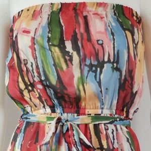Dresses & Skirts - NWT Mosaic Sun Dress Sz M